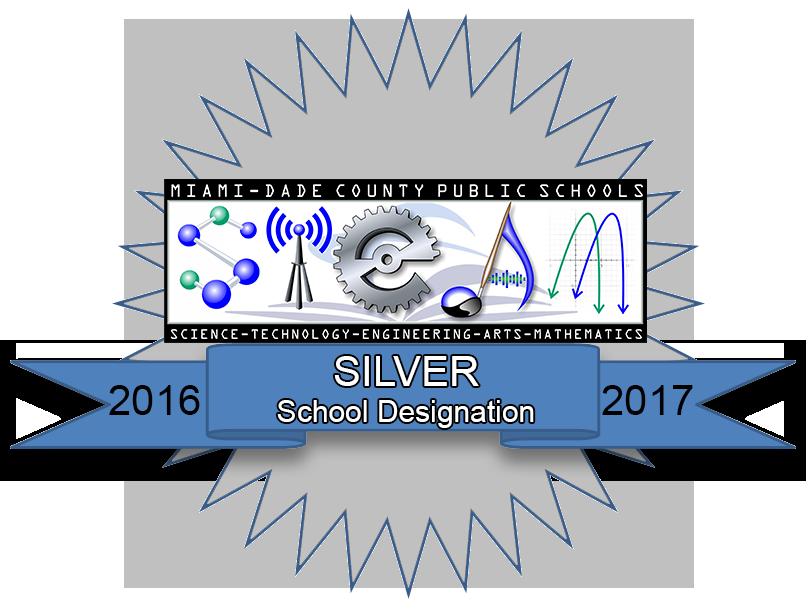STEAm Silver School Designation